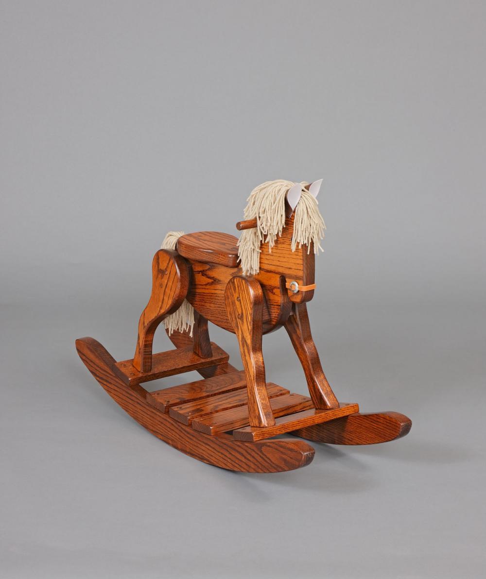 Rocking Horse Seat ~ Jake s amish furniture rocking horse quot high seat