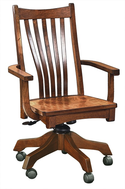 Wondrous Jakes Amish Furniture 3003 Reagan Desk Chair Download Free Architecture Designs Scobabritishbridgeorg