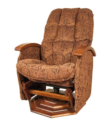 Jake S Amish Furniture Np 197 Swivel Glider Recliner