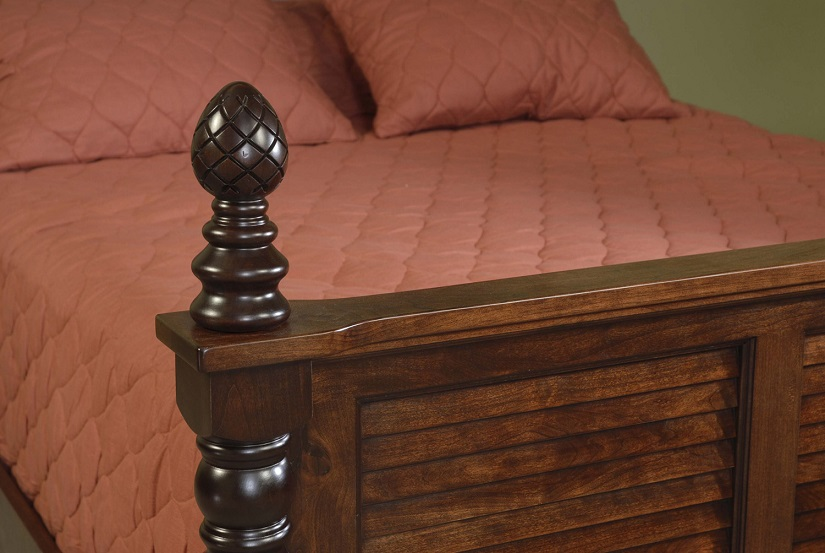 Jake s amish furniture carved bed post finial for