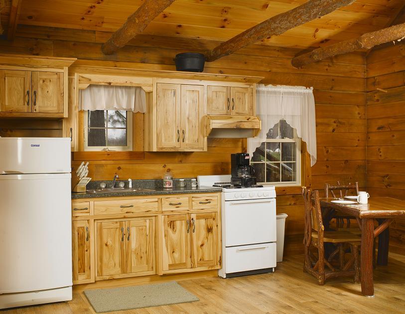 Jake S Amish Furniture Rustic Hickory Cabin Kitchen