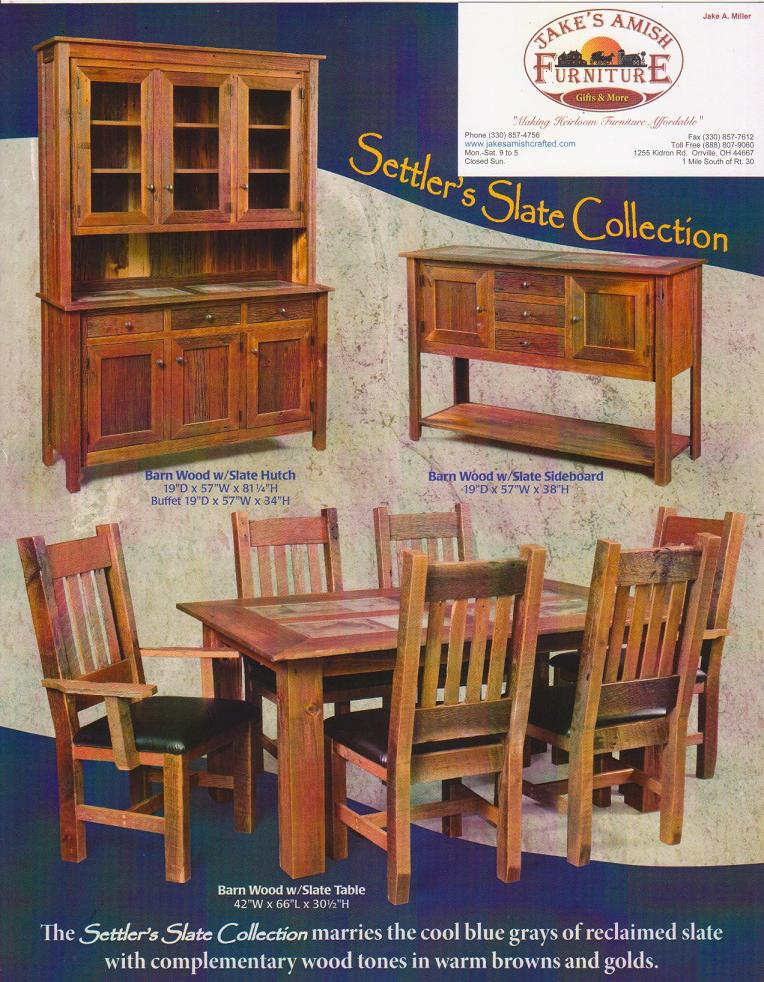 Jake 39 s amish furniture settler 39 s barn wood for Outdoor furniture early settler